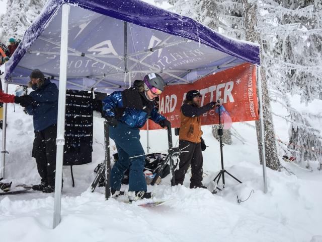 revy banked slalom
