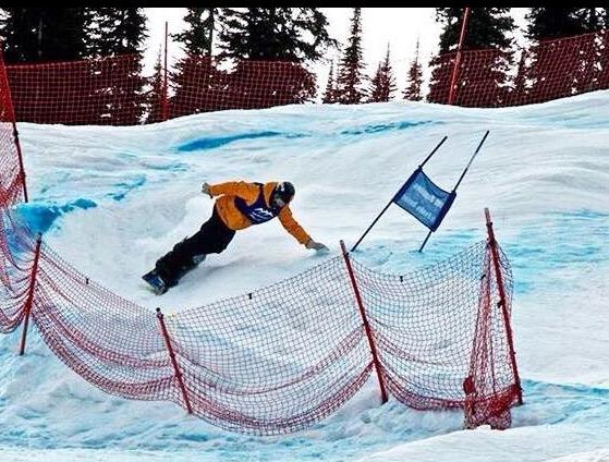 sunpeaks snowboard